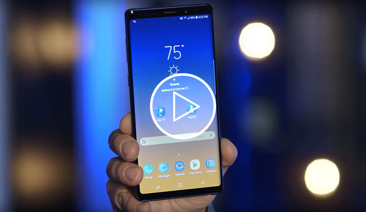 Samsung Note9 unboxing