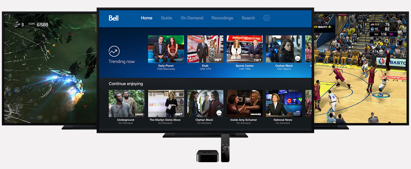 How to connect bell fibe remote to tv