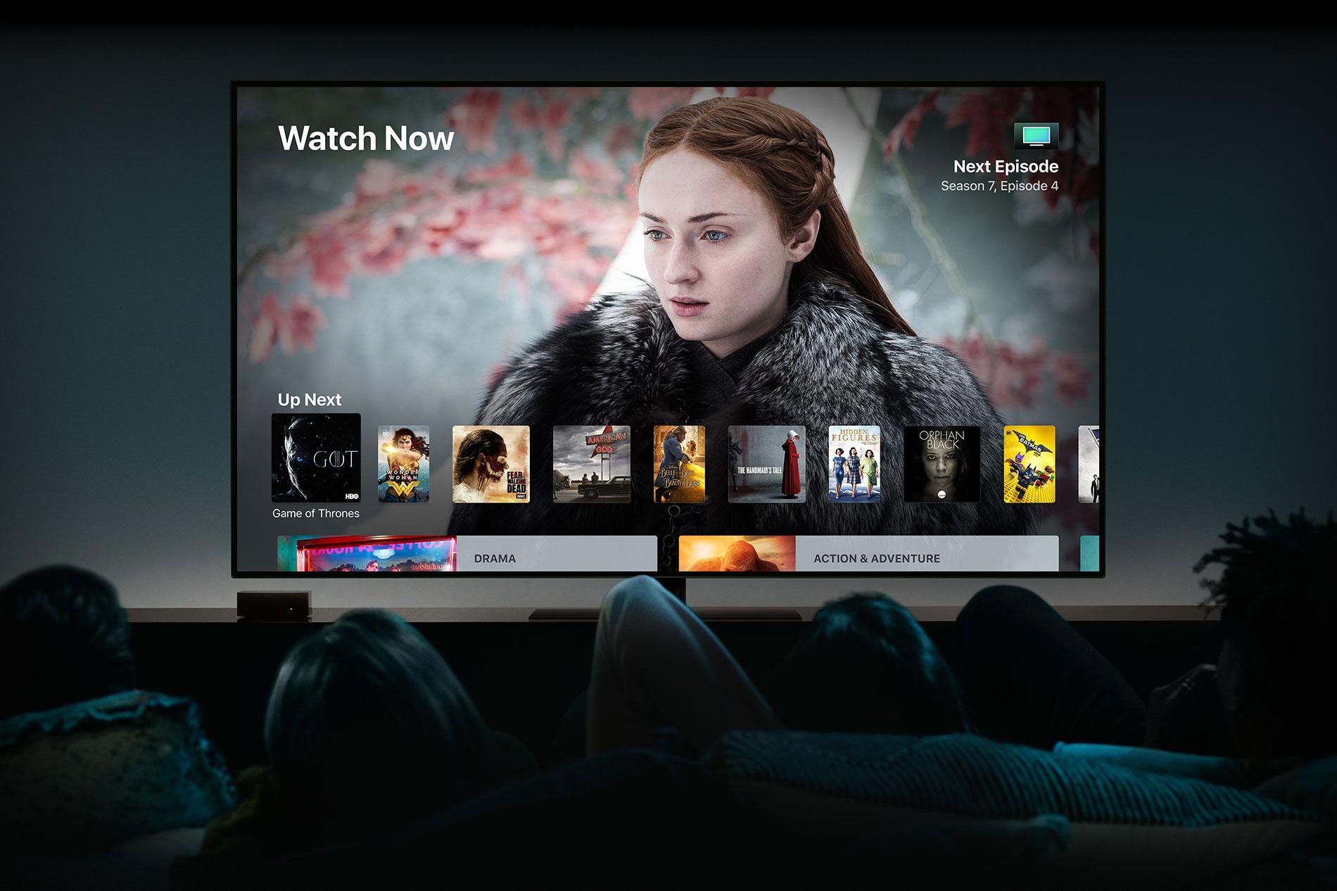 Meet the Apple TV 4K   Bell