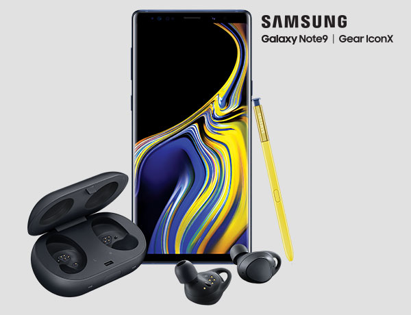 Pre-order the Samsung Galaxy Note9