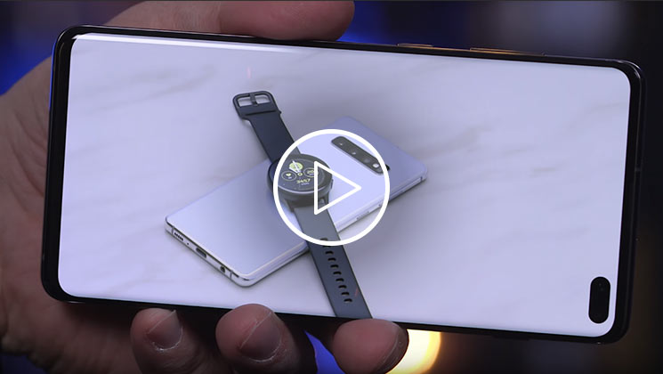 Samsung Galaxy S10 unboxing