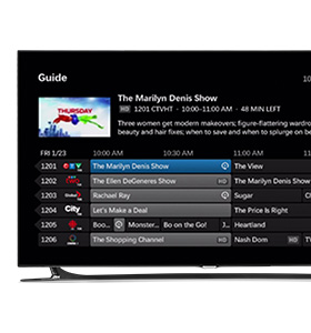 What are the channel numbers for Bell TV?
