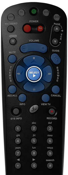 Bell Fibe TV remote