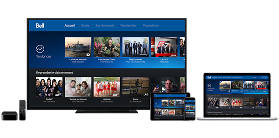 Application Télé Fibe