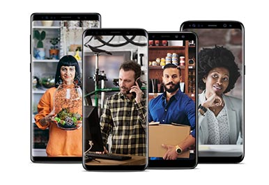 Amazing Samsung phones on Canada's best national network