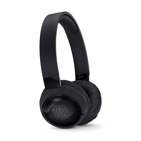 JBL T600BTNC wireless on-ear headset (black)