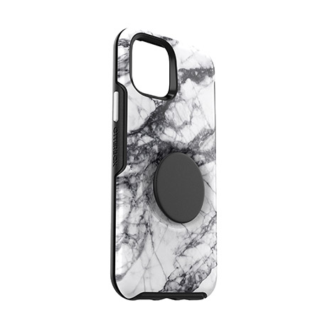 Otterbox Otter + Pop Symmetry case (white marble) for iPhone 11