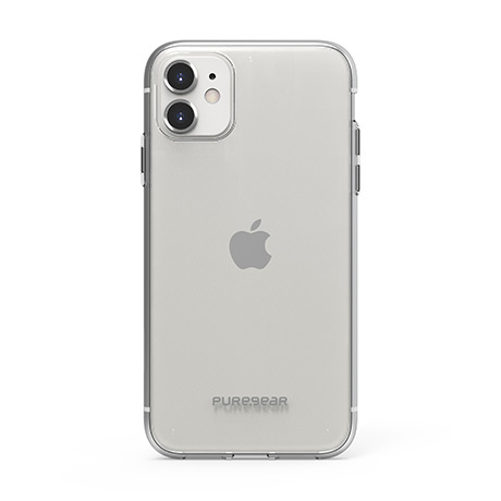 PureGear Slim Shell case (clear) for iPhone 11
