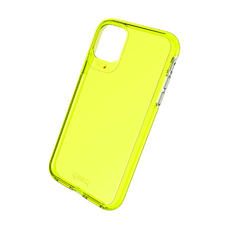 Gear4 Crystal Palace case (neon yellow) for iPhone 11