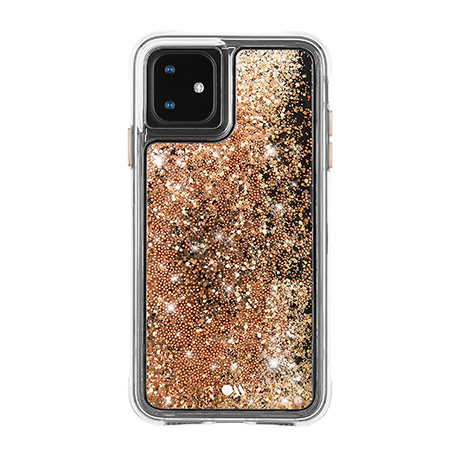 Case-Mate Waterfall case (gold) for iPhone 11
