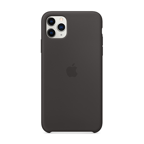Apple Silicone case (black) for iPhone 11 Pro Max