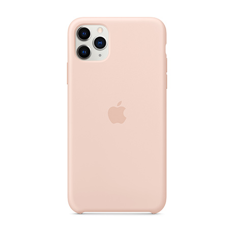 Apple Silicone case (pink sand) for iPhone 11 Pro Max
