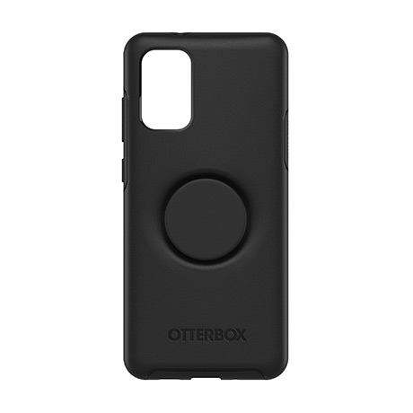 Otter + Pop Symmetry case (black) for Samsung Galaxy S20+ 5G