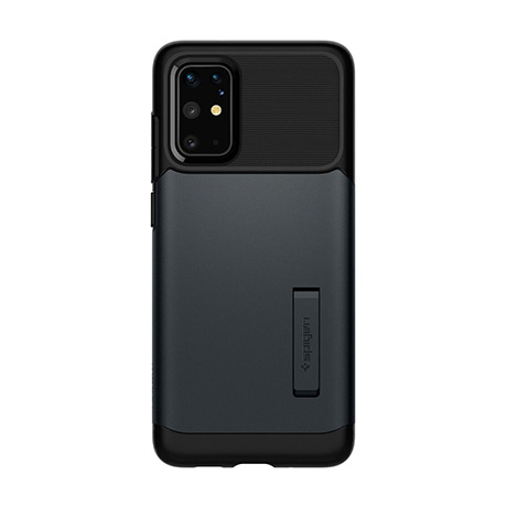 Spigen Slim Armor case (metal slate) for Samsung Galaxy S20+ 5G