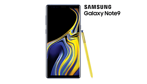 Get $200 off the Samsung Galaxy Note9 when you trade in an eligible device
