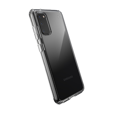 Speck Presidio Perfect-Clear case (clear) for Samsung Galaxy S20 5G
