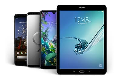Trade in your device and get a minimum $100 towards a new one.