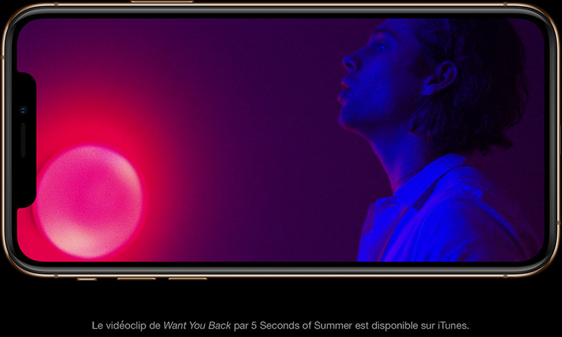 Le vidéoclip de Want you back par 5 Seconds of Summer est disponible sur iTunes.