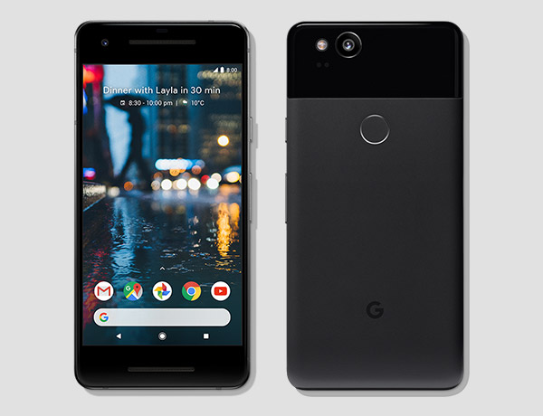 Get the new Google Pixel 2 on Canada's best national network.*
