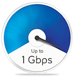 Up to 1 Gbps