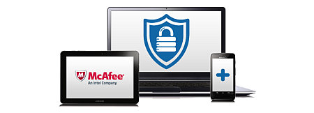 McAfee® powered security services included.