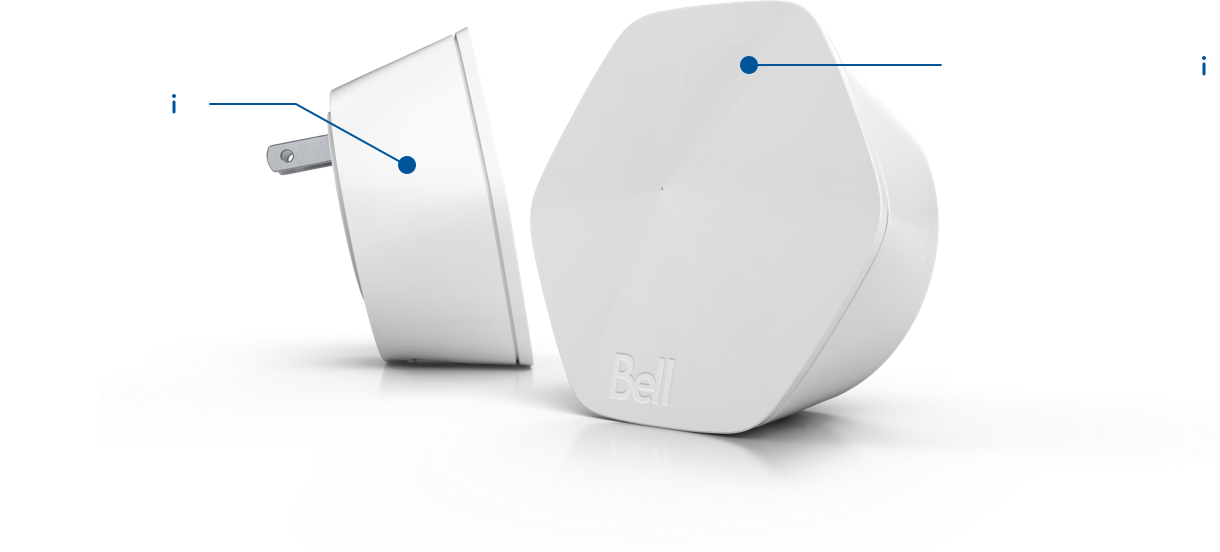 Enhance your Wi-Fi with Bell Wi-Fi pods