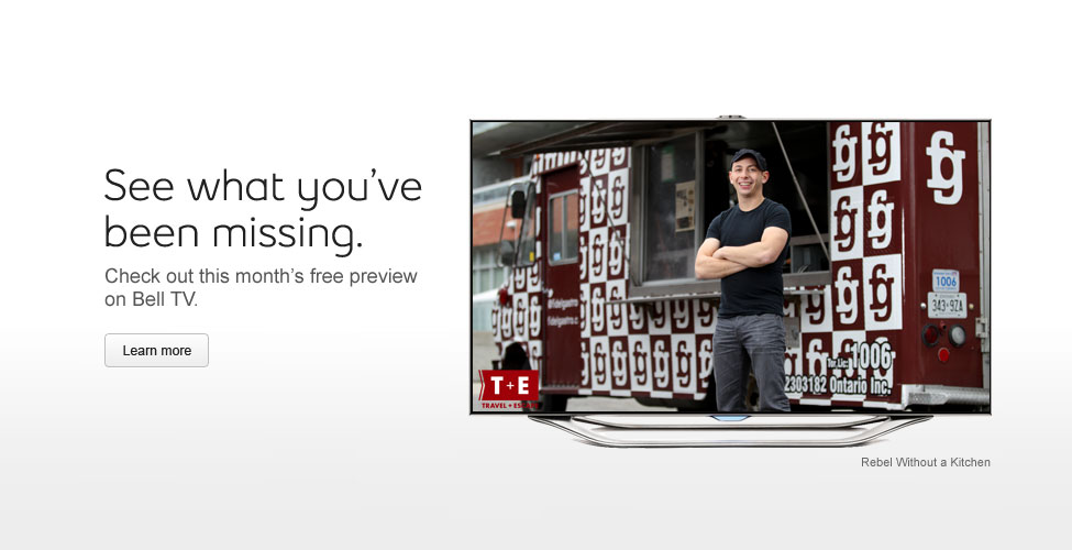 Free Previews from Bell TV