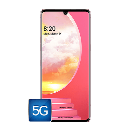 LG Velvet 5G  - 128 GB - Illusion Sunset- 105698 - Default