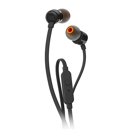 JBL T110 corded in-ear headphones (black)
