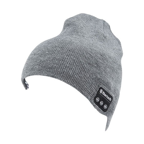 Bluetooth stereo hat (grey)