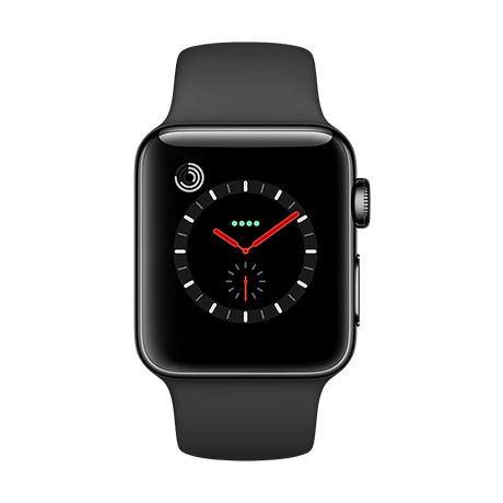 Apple Watch Series 3 - Stainless Steel case
