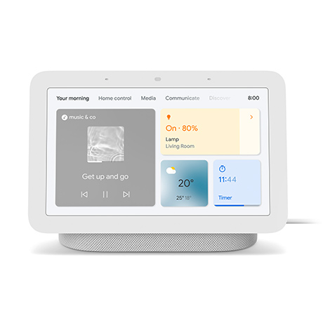 Google Nest Hub 2nd gen (chalk)