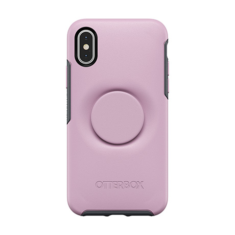 on sale f4d72 dfd37 Otter + Pop Symmetry mauve and grey case | iPhone X and XS | Bell