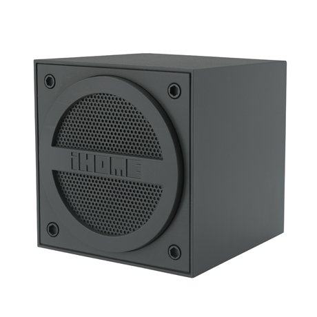 iHome Bluetooth Mini Speaker Cube (grey)