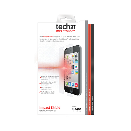 Tech21 Impact Shield screen protector for iPhone 5/5c/5s