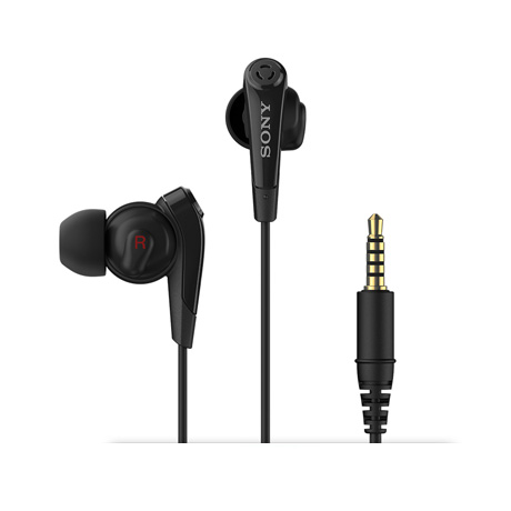 Sony MDR-NC31EM in-ear headphones (black)