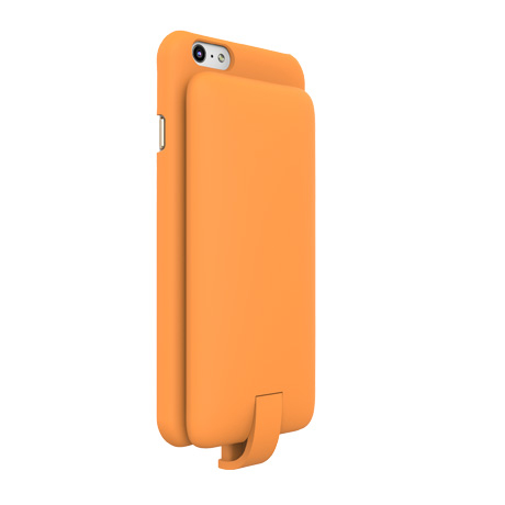 Lepow PIE case with power bank (orange) for iPhone 6/6s