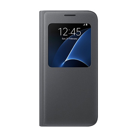 Samsung S View flip cover (black) for Samsung Galaxy S7