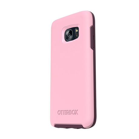 OtterBox Symmetry case (rose) for Samsung Galaxy S7