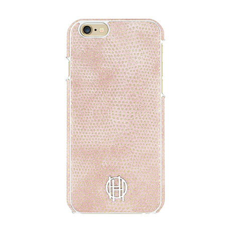 House of Harlow 1960 snap case (pink kraits) for iPhone 6/6s