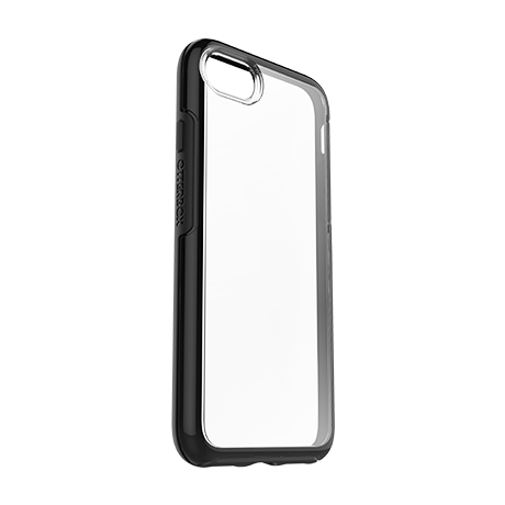 OtterBox Symmetry Clear case (black) for iPhone 7