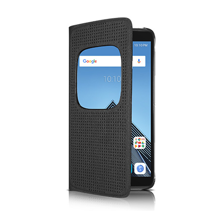 Alcatel flip cover case (dark grey) for Alcatel IDOL 4