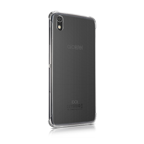Alcatel clear shell case for Alcatel IDOL 4