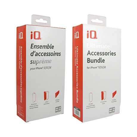 iQ Ultimate Accessories Bundle for iPhone 5s/SE