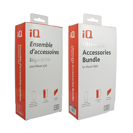 iQ Ultimate Accessories Bundle for iPhone 6/6s
