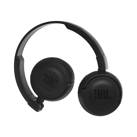 JBL T450BT wireless on-ear headset (black)