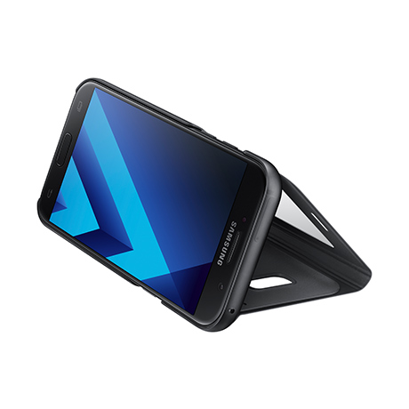 Samsung S View Standing Cover (black) for Samsung Galaxy A5 (2017)