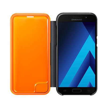 Samsung Neon Flip Cover (black) for Samsung Galaxy A5 (2017)