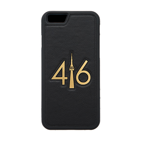 416 leather case (gold logo) for iPhone 6/6s