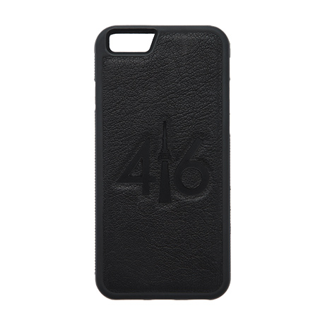 416 leather case (black logo) for iPhone 6/6s